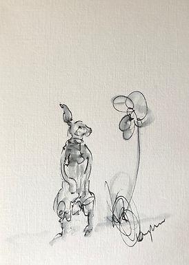 Hare Doodle 2 - Original sketch