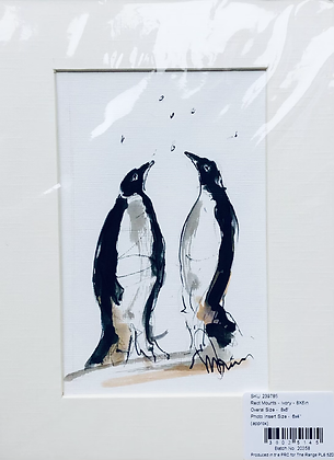 Penguins 🐧 For Sale Christmas Specials extra £5 with frame