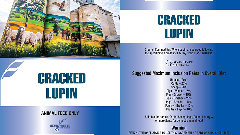 LUPINS | WHOLE | CRACKED