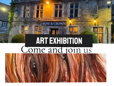 Art Exhibition Solidarity between the Integral British Pub and the