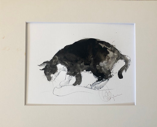 Cat Drawing For Sale