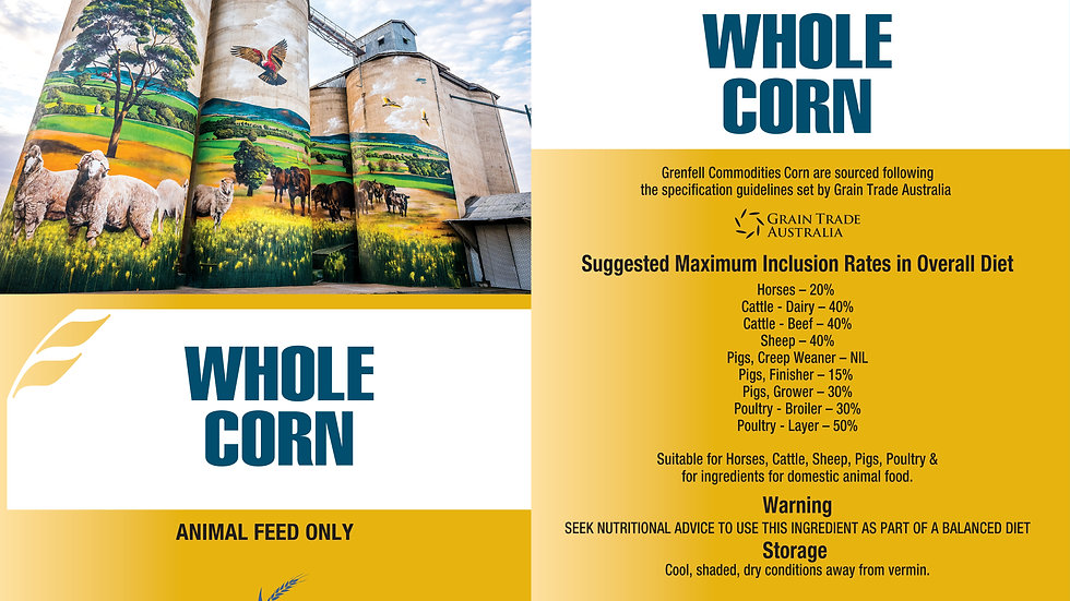 CORN | WHOLE | MEAL | CRACKED