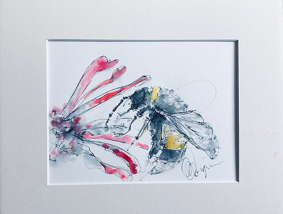 Bumble Bee 🐝 Drawing For Sale Framed