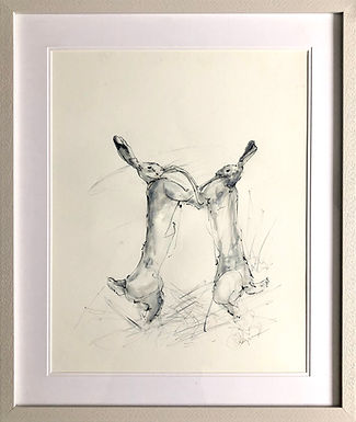 Boxing Hares For Sale