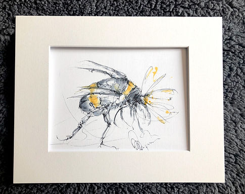 Mr Bumble 1- Collection Bumble Bee drawings