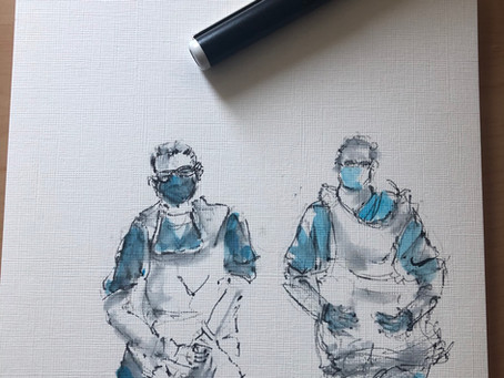 Art and how I managed to make lockdown work for me and help with anxiety