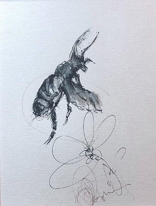 Bumble Bee Drawings for Sale 3