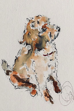 """Dog Commission """"Nellie"""""""