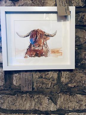Highland Cow  Original