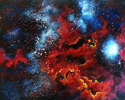 Glowing Outer Space