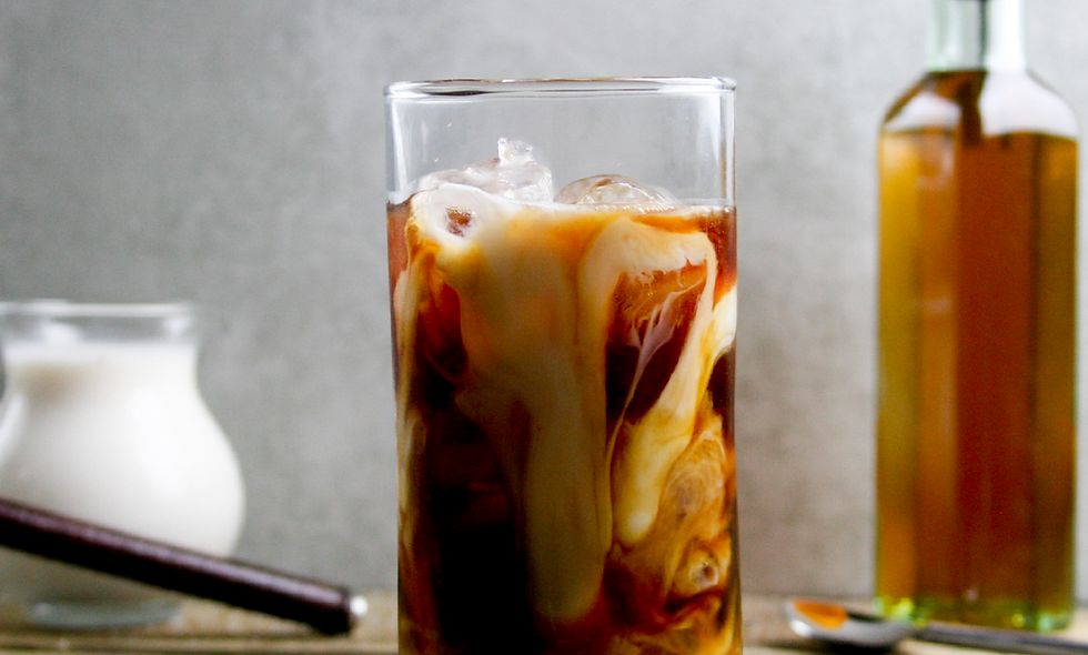 Salted Caramel Cold Brew Coffee