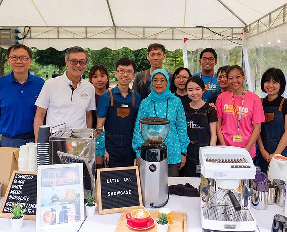 The Cofee Roaser President Latte Art Showcase