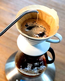 Coffee Brewing with V60