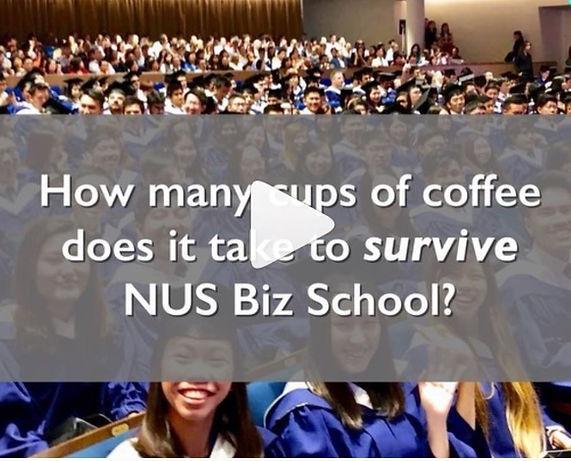 The Coffee Roaster NUS BBA Graduating Class 2019 Video Feature