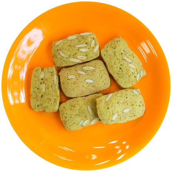 Matcha Pumpkin Seed Cookies [Jar]