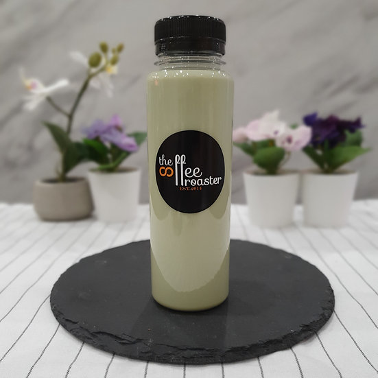 Cold Green Tea Latte [Handcrafted Bottled Drinks]