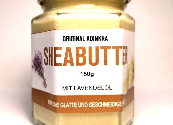 Sheabutter mit Lavendelöl 150g