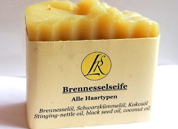 Brennessel-Schwarzkümmel - Haarseife 70g