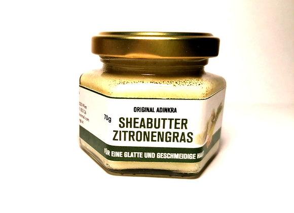 Sheabutter mit Zitronengrasöl weiß 70g