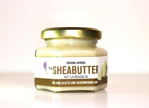 Sheabutter mit Lavendelöl 70g