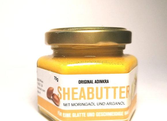 Sheabutter mit Argan Öl und Moringa Öl 70g