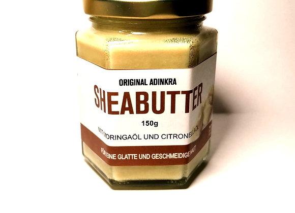 Sheabutter mit Moringaöl und Citronellaöl 150g