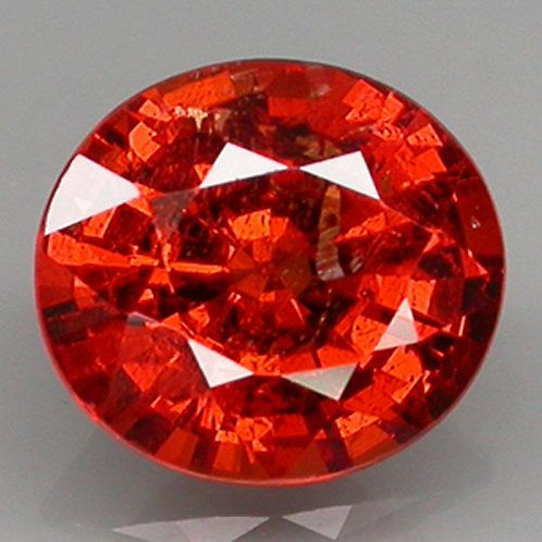 Natural  1.43 ct Spessartite Garnet loose stone oval