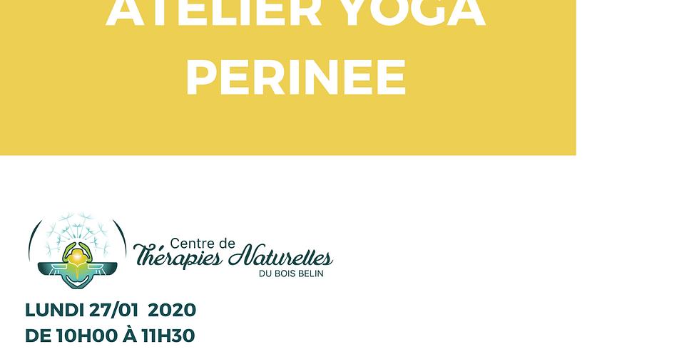 Ateliers YOGA à thèmes : yoga du périnée