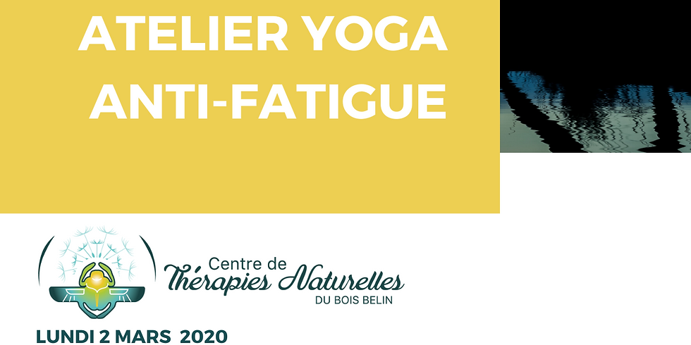 Ateliers YOGA à thèmes : yoga anti-fatigue (bis)