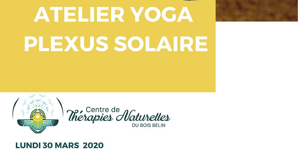 Ateliers YOGA à thèmes : yoga chakra plexus solaire