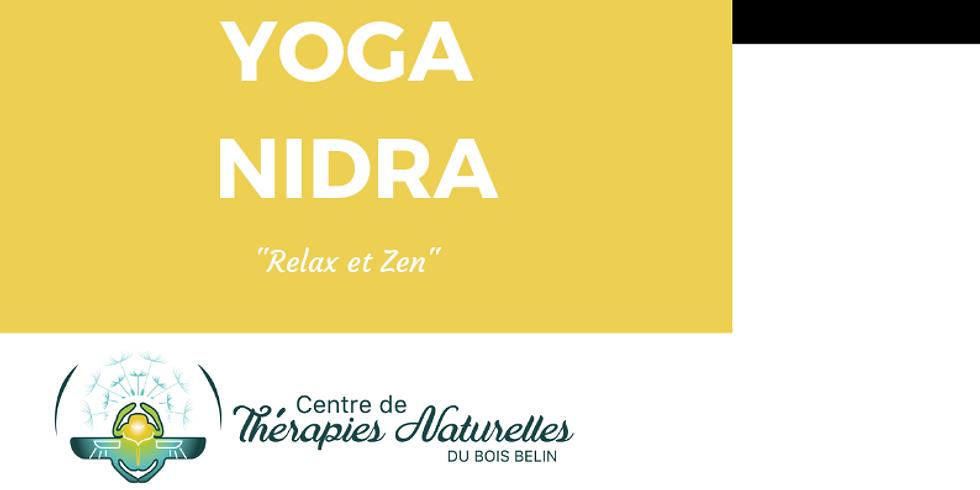 Yoga Nidra tout les lundis 17H à 18H