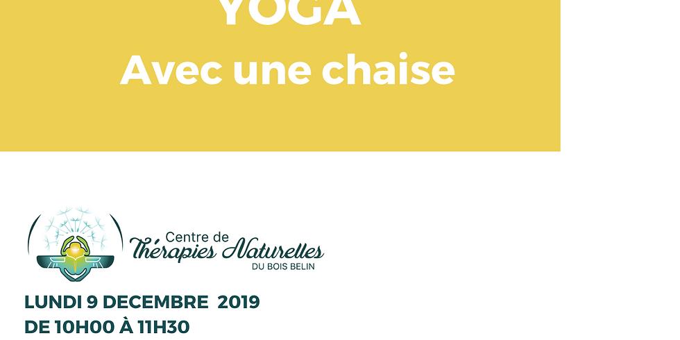 Ateliers YOGA à thèmes : yoga chaise