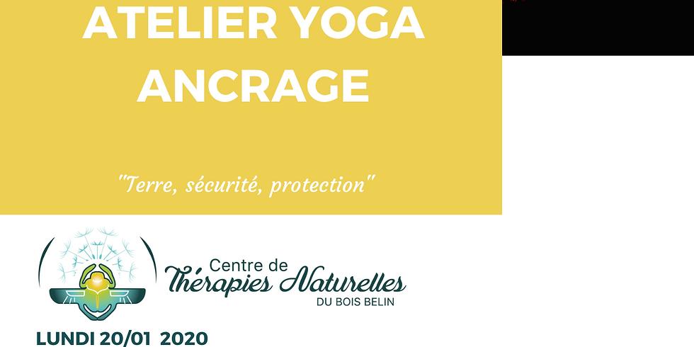 Ateliers YOGA à thèmes : yoga de l'ancrage