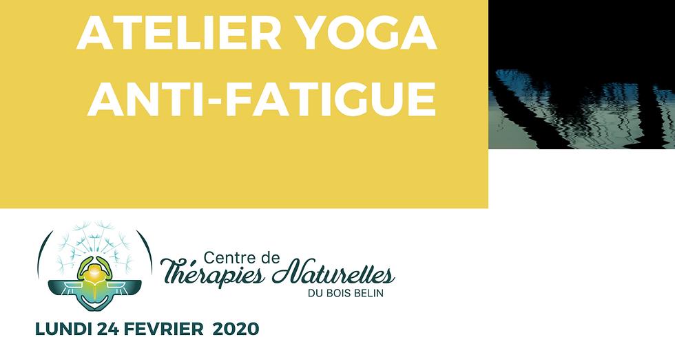 Ateliers YOGA à thèmes : yoga anti-fatigue