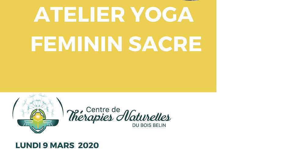 Ateliers YOGA à thèmes : yoga féminin sacré