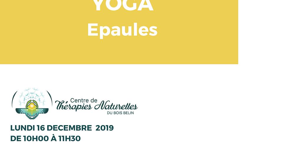 Ateliers YOGA à thèmes : yoga des épaules