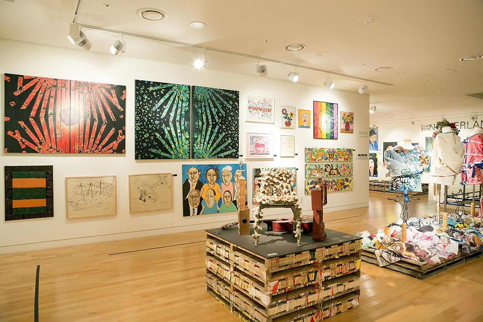 D Art Exhibition Ipoh : Art and culture contents create exhibition design