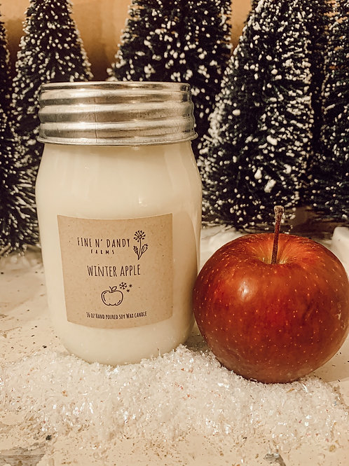 Winter Apple 16 oz Soy candle