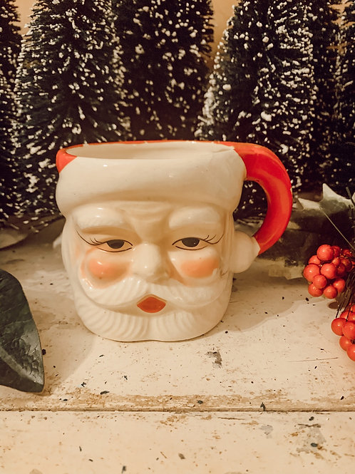 Large Antique Santa mug 14oz Soy Candle #2