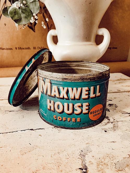 32oz Maxwell House Coffee Tin