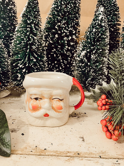 Antique Santa Mug #5 10 oz