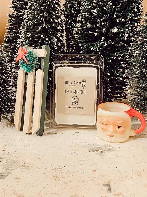 Christmas Time 3.5 oz Soy Wax Melt