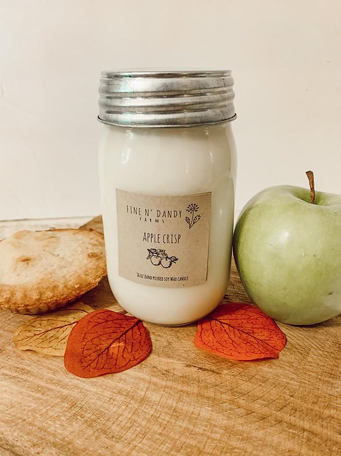Apple Crisp 16 oz Soy Candle