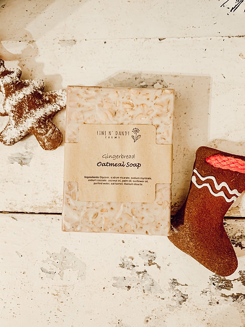 Gingerbread Oatmeal Soap