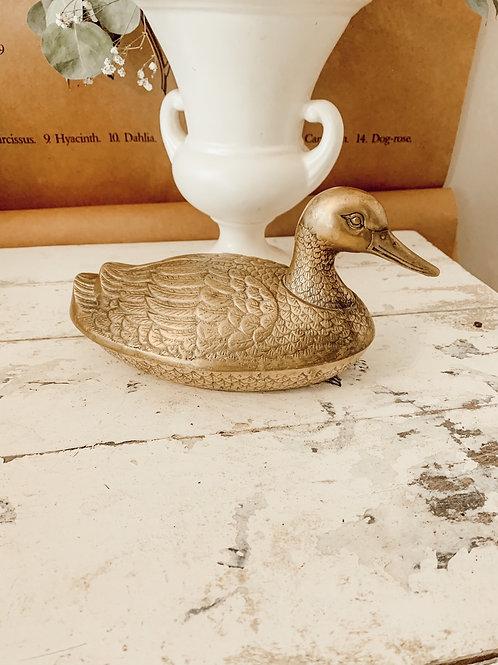 14oz Brass Duck