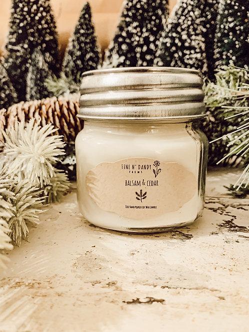 Balsam & Cedar 8 oz Soy Candle