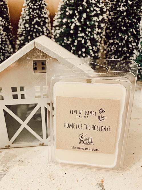 Home for the Holidays 3.5 oz Soy Wax Melt