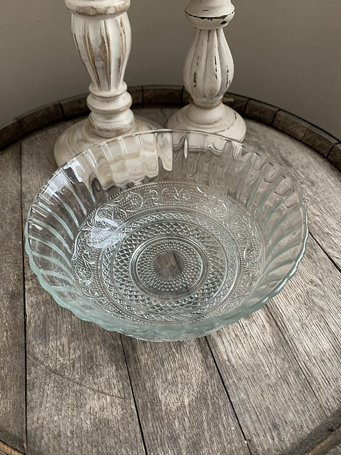 30oz Large Glass Bowl