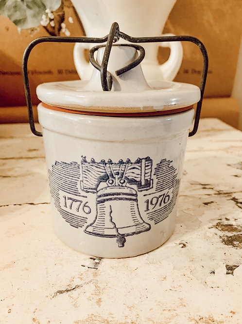 18oz Crock with Liberty Bell