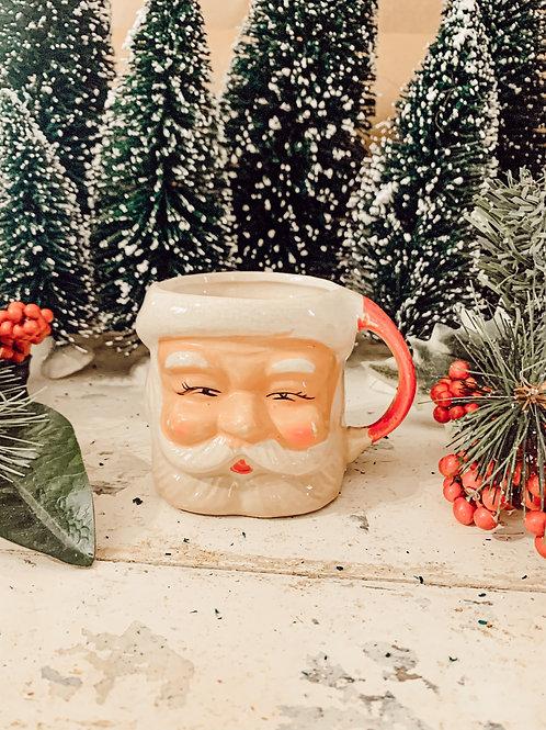 Antique Santa Mug #4 10 oz